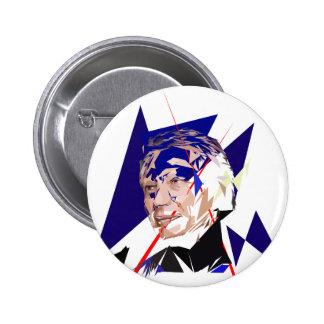 Dominique de Villepin 6 Cm Round Badge