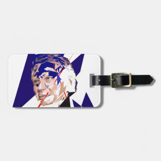 Dominique de Villepin Luggage Tag