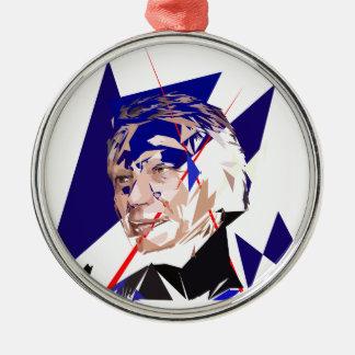 Dominique de Villepin Metal Ornament