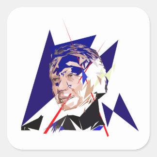 Dominique de Villepin Square Sticker