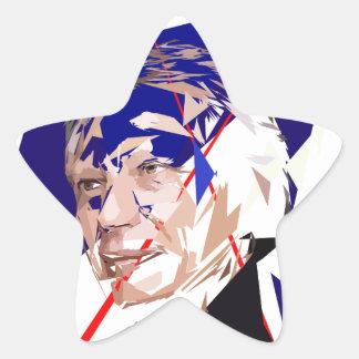 Dominique de Villepin Star Sticker