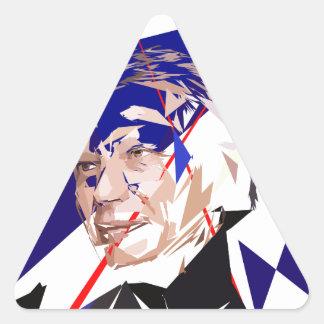 Dominique de Villepin Triangle Sticker