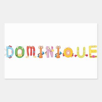 Dominique Sticker