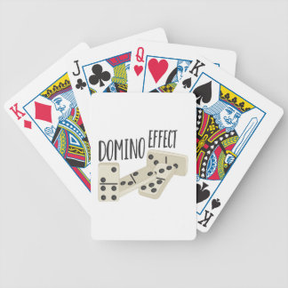 Domino Effect Bicycle Playing Cards