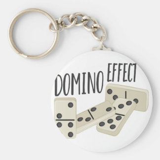 Domino Effect Key Ring