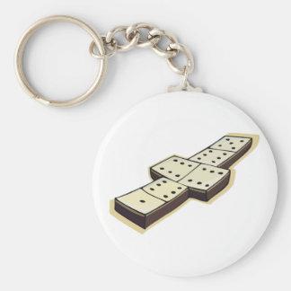 Domino Keychain