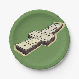 Domino Paper Plates
