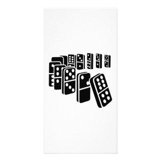 Domino Photo Card