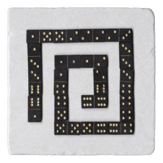 Domino Spiral Trivet