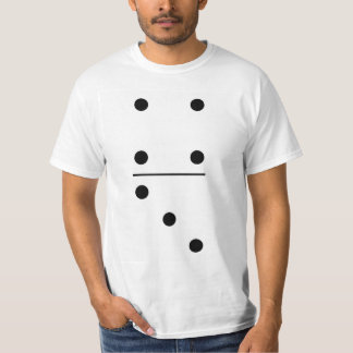 Dominoes 4-3 Group Costume T-Shirt