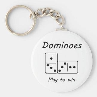 Dominoes Key Ring
