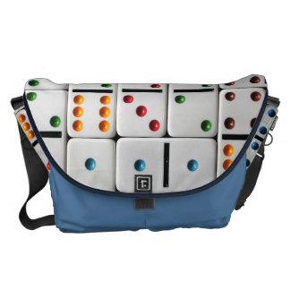 Dominoes Lg. Messenger Bag (medium size print)