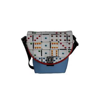Dominoes Mini Messenger Bag (small size print)