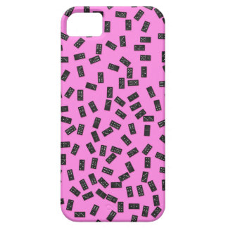 Dominoes on Pink iPhone 5 Covers