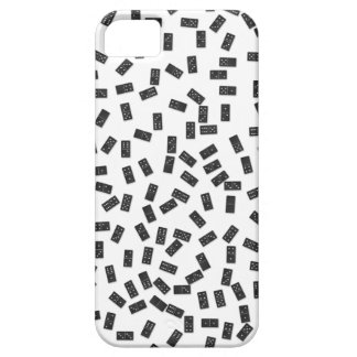 Dominoes on White iPhone 5 Case