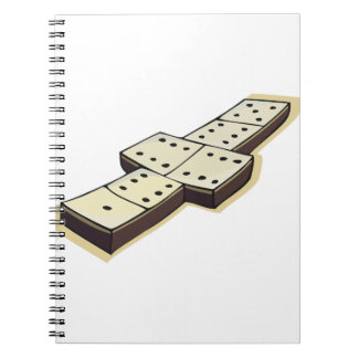 Dominos Game Spiral Notebook