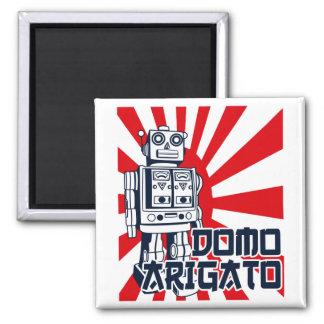 Domo Arigato Square Magnet