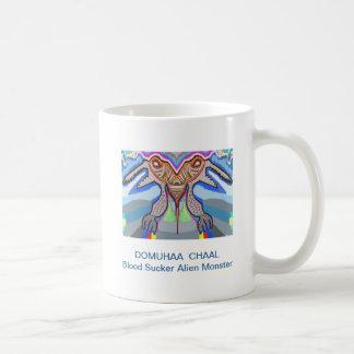 DOMUHAA  CHAAL - Blood Sucker Alien Monster Coffee Mugs