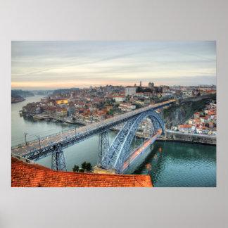 Don Luis I bridge, Porto Poster