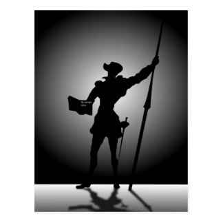 Don Quijote Postcard