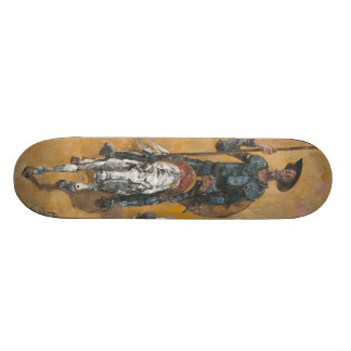 Don Quixote Adventures Stanislav Stanek 19.7 Cm Skateboard Deck