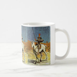 Don Quixote And Sancho Panza By Daumier Honoré (Be Coffee Mug