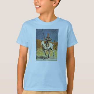 Don Quixote And Sancho Panza By Daumier Honoré (Be T-Shirt