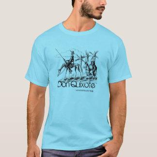 Don Quixote and Sancho Panza ink pen drawing art T-Shirt