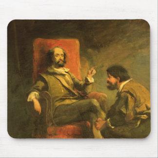 Don Quixote and Sancho Panza Mouse Pad