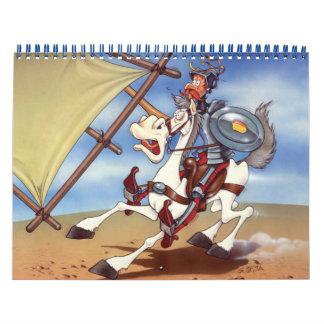 DON QUIXOTE - Animation Backgrounds Calendar