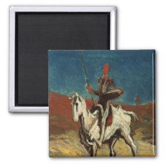 Don Quixote, c.1865-1870 Magnet