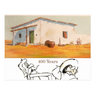 DON QUIXOTE- Cartoon animation Background (1979) Postcard