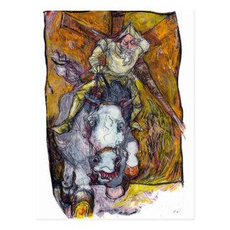 Don Quixote Postcard