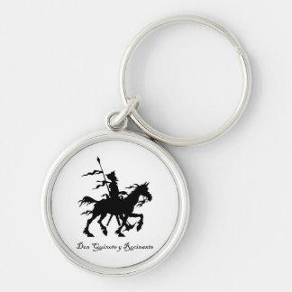 Don Quixote y Rocinante Key Ring