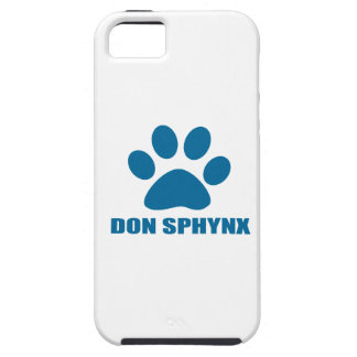 DON SPHYNX CAT DESIGNS TOUGH iPhone 5 CASE