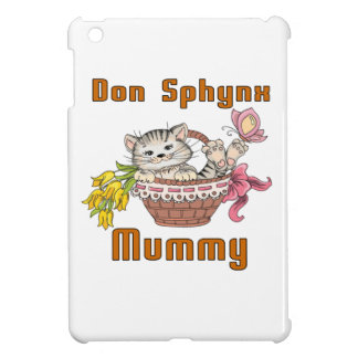 Don Sphynx Cat Mom iPad Mini Cases