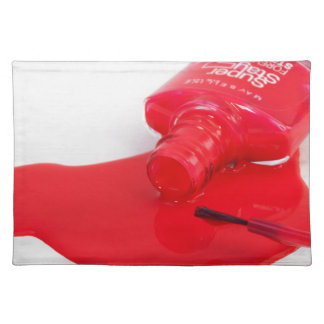 Don't Cry Over Spilt Nail Polish Placemat