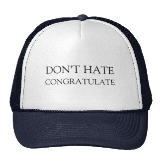 Don t hate trucker hat