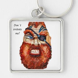 Don´t irritate me! Scandinavian viking Key Ring