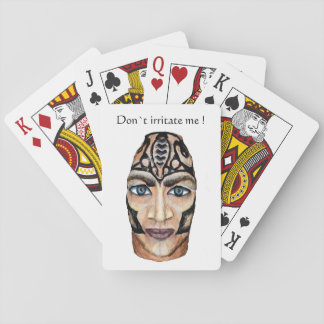 Don´t irritate me! Scandinavian viking Playing Cards