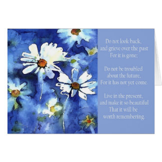 don t look back daisies greeting cards