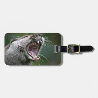Don`t Mess With The Otter Luggage Tag