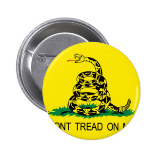 Don t Tread On Me Pinback Button