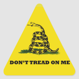 Don t Tread On Me gadston flag Stickers