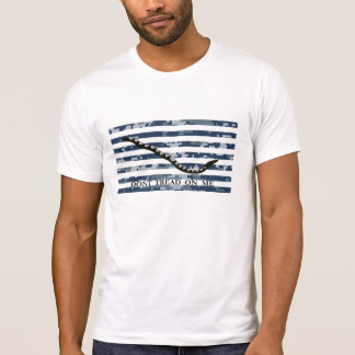 Don't Tread On Me Navy Jack T-Shirt
