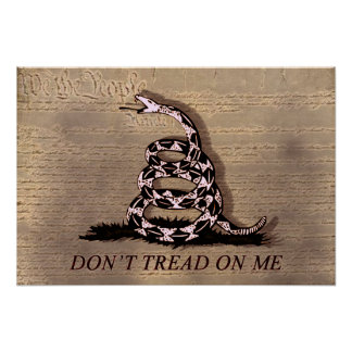 Don t Tread On Poster