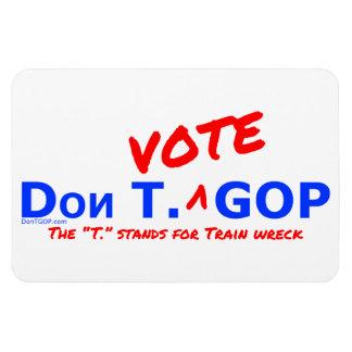 Don T. Vote GOP / Train wreck - Magnet