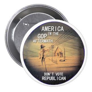 Don t vote Republican Pin
