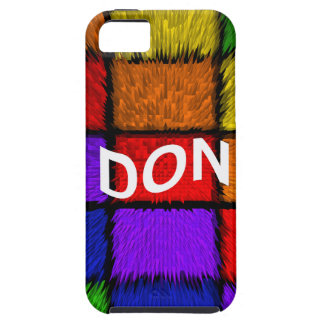 DON TOUGH iPhone 5 CASE