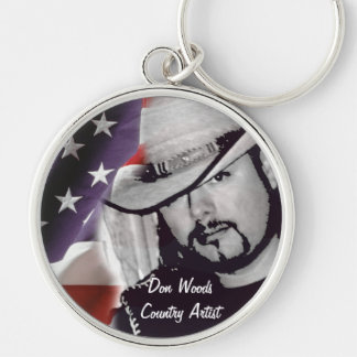 Don Woods Country Artist Keychain
